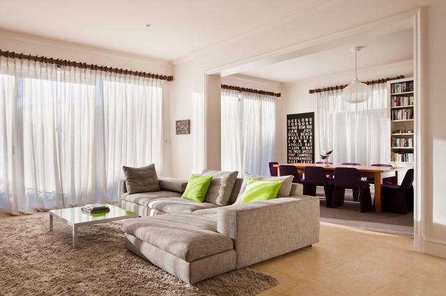 Brighton Residence modern living room
