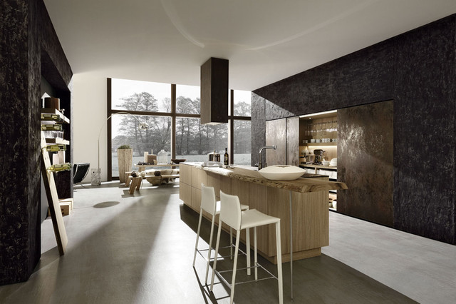contemporary kitchen by Paul Anater
