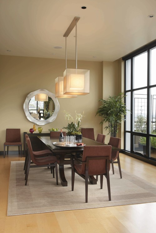 Contemporary Dining Room Design By Portland Interior Designer Soljaga Group