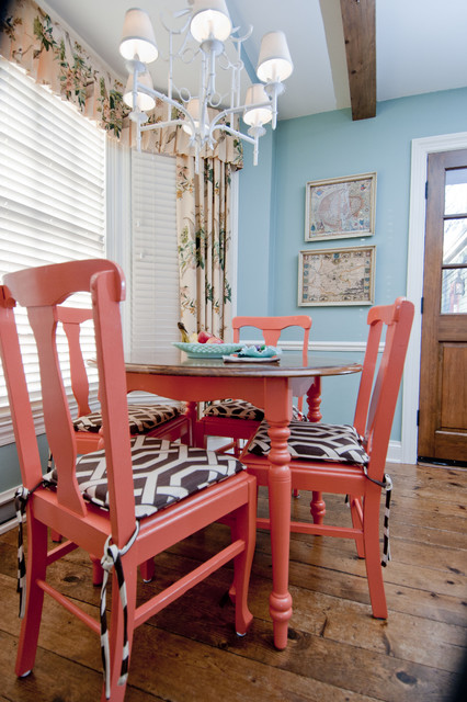 Mary Best Designs eclectic dining room