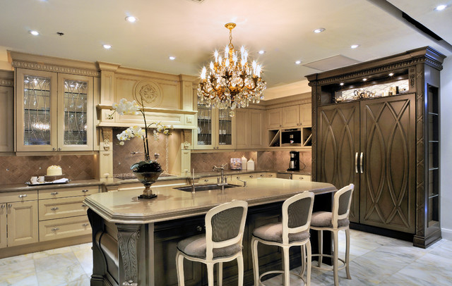 Dollard Audacia Design Downsview Exclusive Dealer Traditional Kitchen Montreal By
