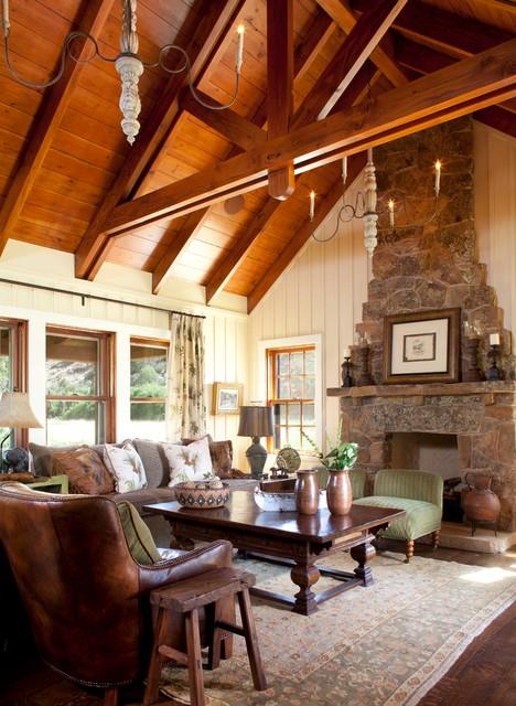 McCoy Colorado rustic living room
