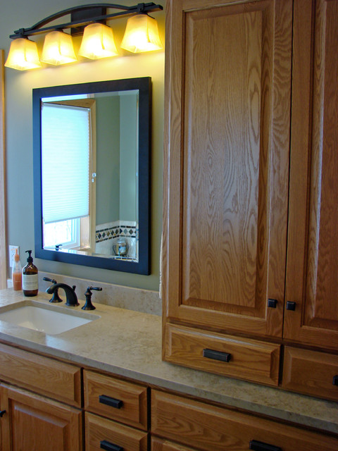 His Amp Hers Master Bathroom Suite Traditional Bathroom