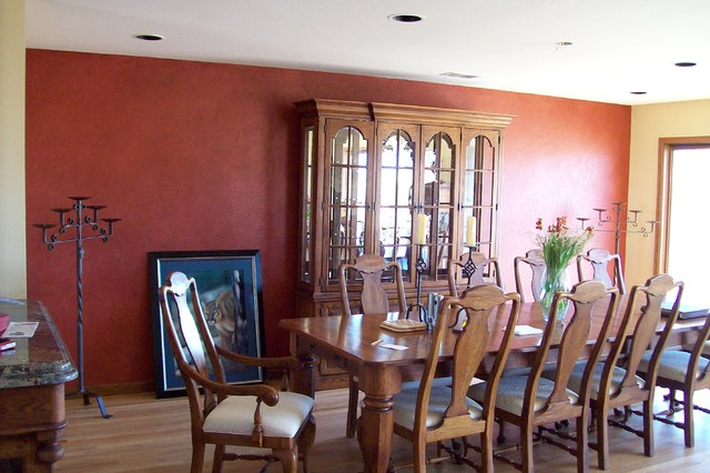 Multiple Glazed Accent Wall