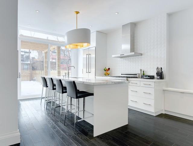 Modern Annex Renovation Contemporary Kitchen Toronto
