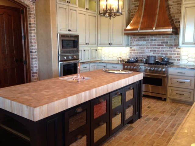 New Home Traditional Kitchen Islands Carts Austin