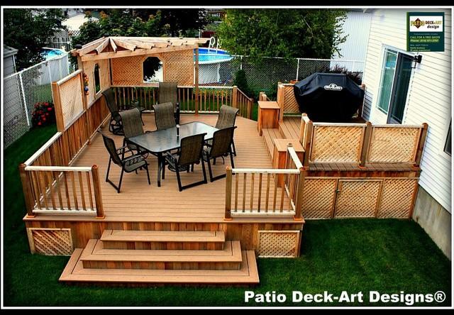 home interior design outdoor decks and patios
