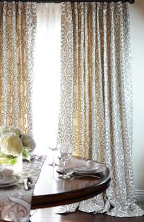 Newport Beach Traditional Curtains Orange County
