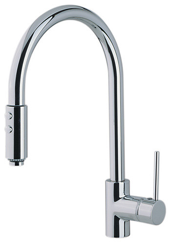 Pulldown Single Handle Kitchen Faucet Modern Faucets