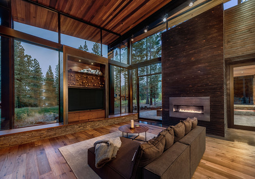 RoyaumeStyleDeco, Chalet Tahoe Lake, Salon