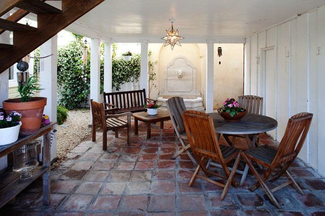contemporary patio by Sybil Jane Barrido, ASID, CID - SJVD DESIGN