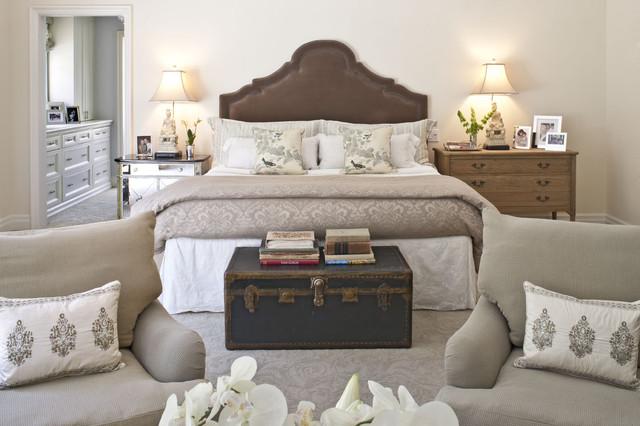 traditional bedroom by Dayna Katlin Interiors