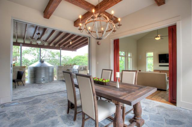Urban Farm House Farmhouse Dining Room Austin By