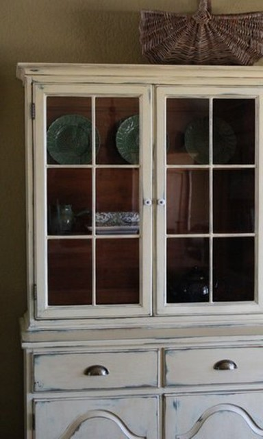 Farmhouse Style China Cabinet China Cabinets And Hutches Austin By Nod To The Past