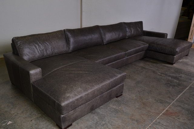 Double Chaise Sectional Sofa