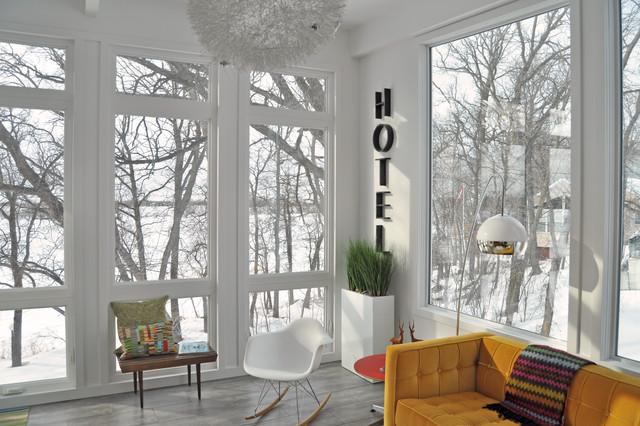 1958 Mid Century Modern Remodel- Sunroom Conversion