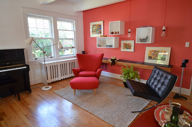 A Re(de)fined Living Space modern living room