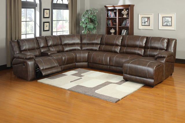 Leather Sectional Sofa Chaise And Recliner