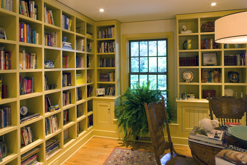 Floor To Ceiling Bookshelves, Yes Or No?