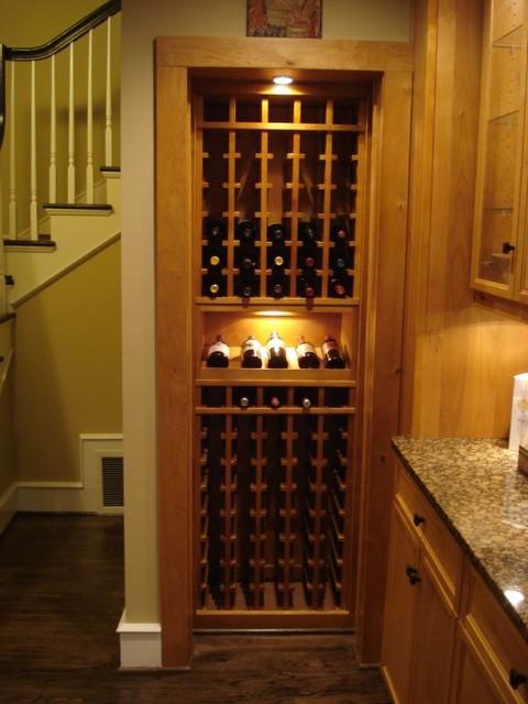 CellarMaker Hidden Wine Cellar Door Traditional Wine