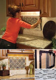 Kitchen Palette Interchangeable Backsplash Tile By
