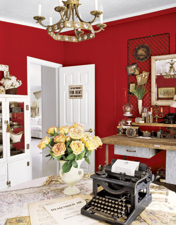 Red Room traditional