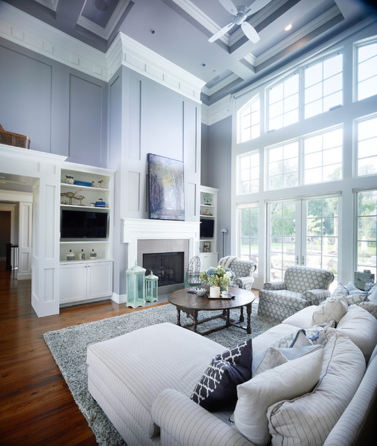 New England Style Living Room
