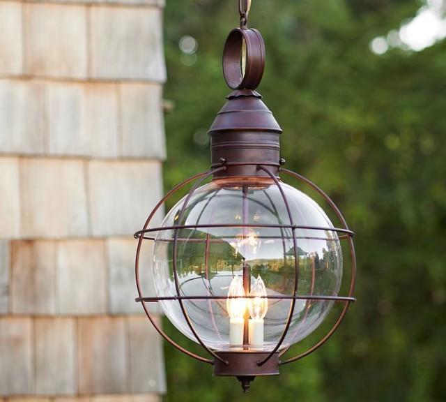 Oblong Pendant Light