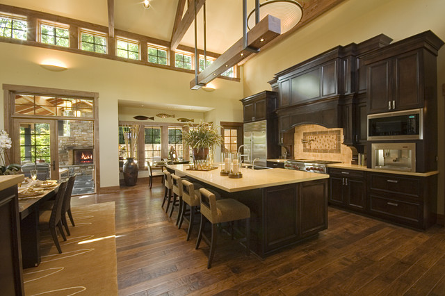 Kitchen-open To Great Room