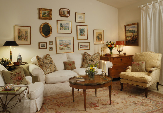 Palm Springs Living Room Traditional Living Room Los