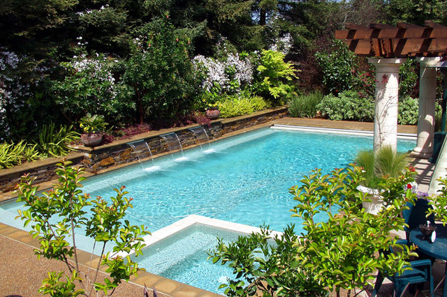 Swan Pools - Swimming Pool Contractor - Peaceful Dreams contemporary pool