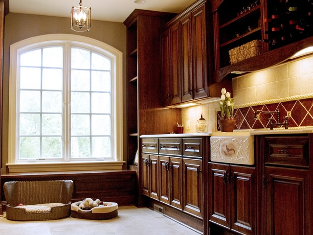 French Country Traditional Laundry Room Milwaukee