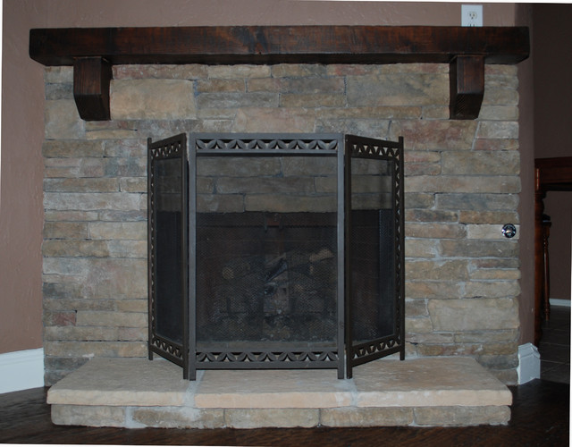 Fireplace Refacing Traditional Indoor Fireplaces Dallas By Southland Flooring Amp Remodels