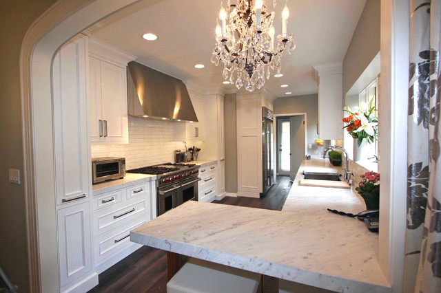 Galley Kitchen Designs Island