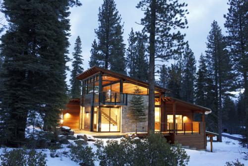 RoyaumeStyleDeco, Chalet, Tahoe Lake, Extérieur