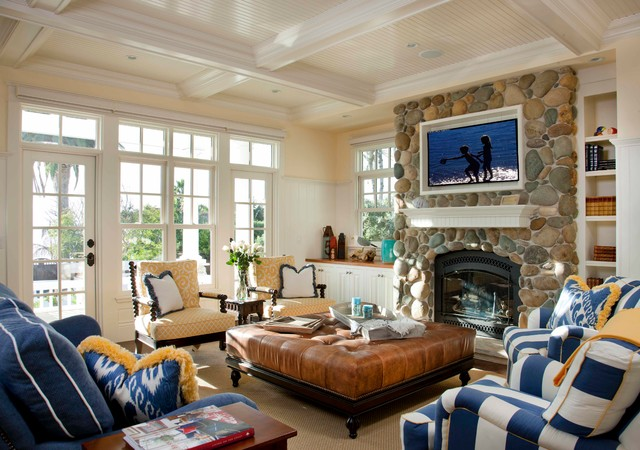 Seaside Escape traditional-living-room