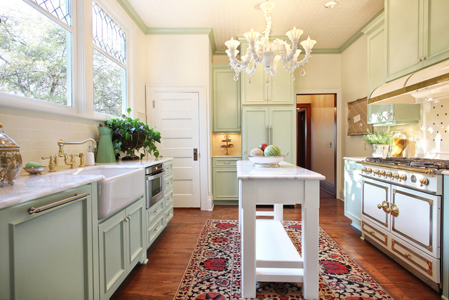 Thurman Street traditional-kitchen