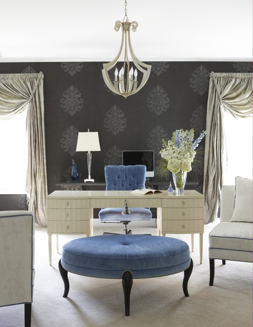 Glamorous home office eclectic-home-office