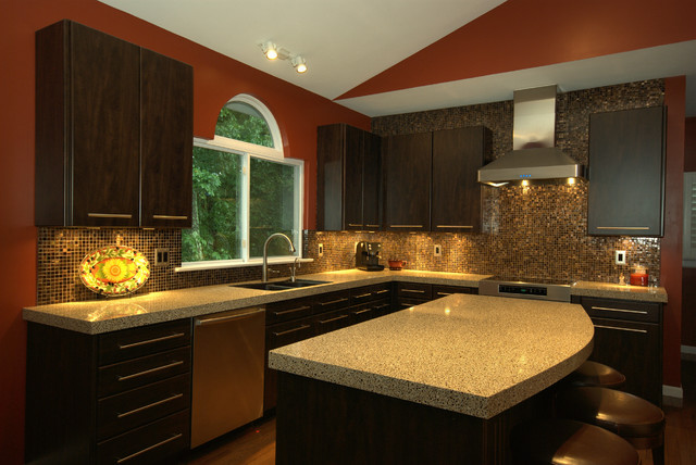 Granite Transformations St Louis Contemporary Kitchen