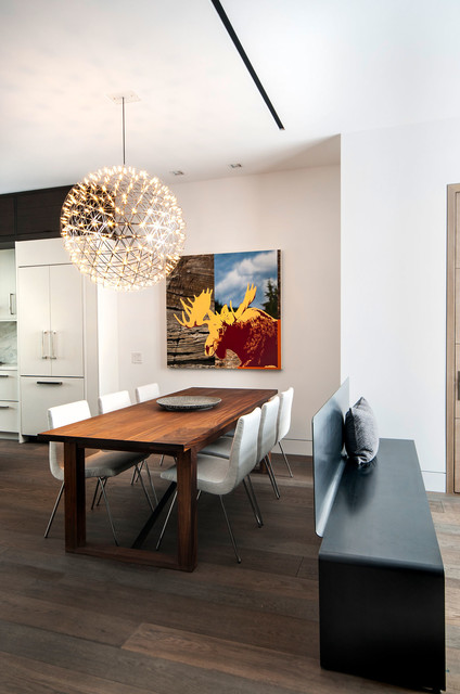 Rox Residence contemporary dining room