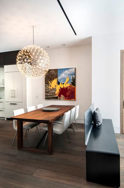 Rox Residence contemporary dining room