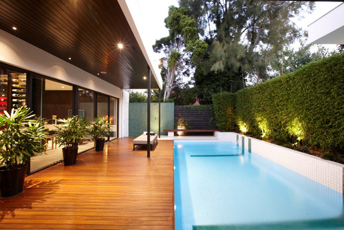 Lap Pool by C.O.S. Design via Houzz.com