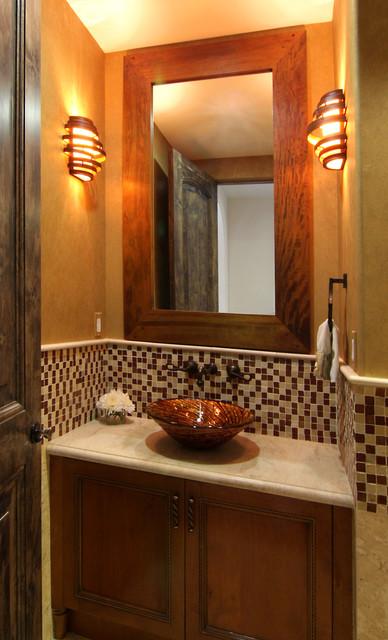 Modern Spanish Mediterranean Bathroom Los Angeles By Konni Tanaka Design Group