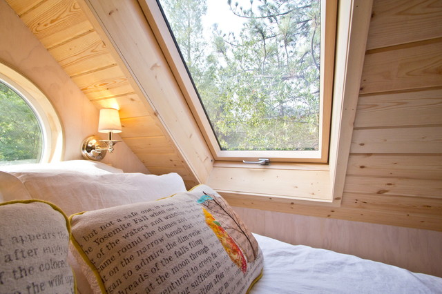 Vina's Tiny House contemporary-bedroom