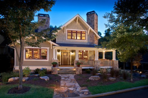House Envy     Craftsman Style Homes     THE BLISSFUL BEE Source