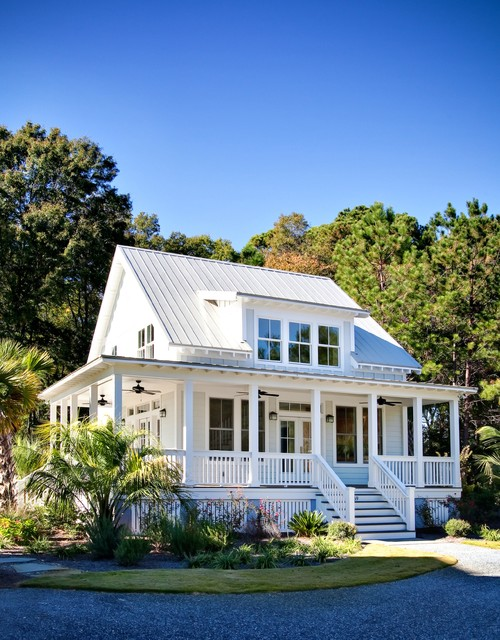 Charleston Low Country House Plans