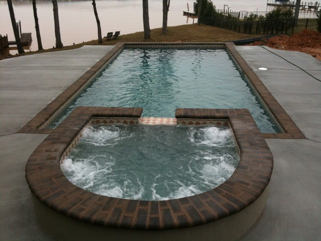 Concrete Pools Traditional Pool Charlotte By Innovative Pool Designs
