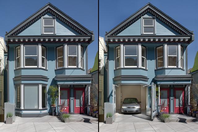 Mirabelle Garage Modern Exterior San Francisco By