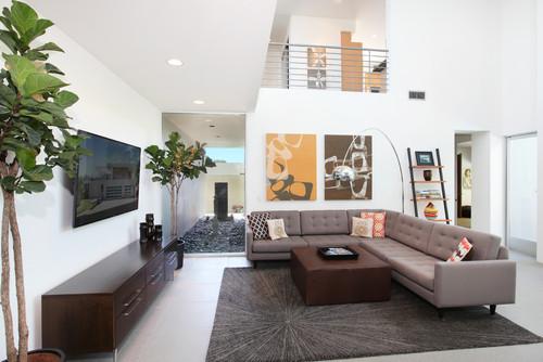 Modern Masculine Sofa