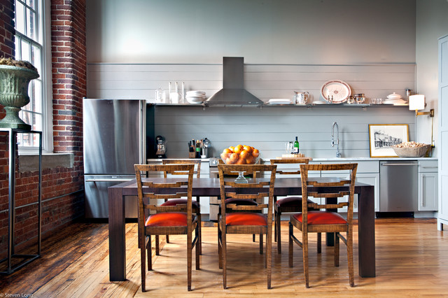 eclectic kitchen by Jason Arnold Interiors | Nashville, Tennessee